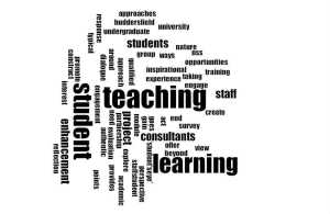 Word Cloud based on project aims