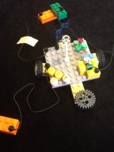 Using Lego to explore metaphors