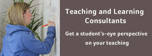 Teaching and Learning Consultants - Get a student's-eye perspective on your teaching