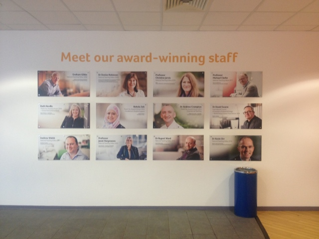 University of Huddersfield award winners 2014