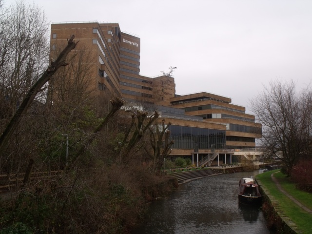 University of Huddersfield campus January 2016 by @olaojo15 CC-BY