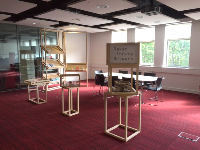 Photo of the maker library at the University of Huddersfield